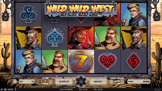 Wild Wild West: The Great Train Heist 3